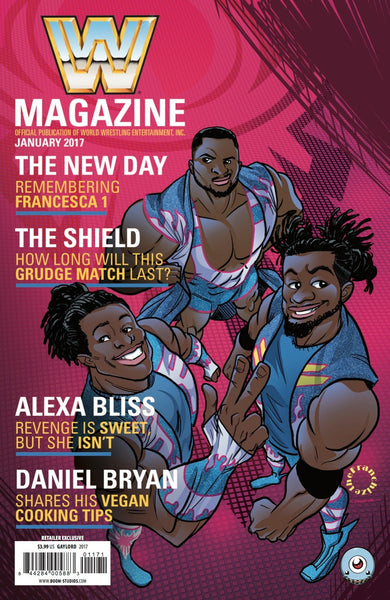 WWE #1 THIRD EYE JERRY GAYLORD THE NEW DAY VARIANT