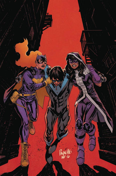 BATGIRL & THE BIRDS OF PREY #8 1st PRINT