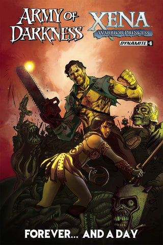 ARMY OF DARKNESS XENA FOREVER & A DAY #6 COVER A MAIN