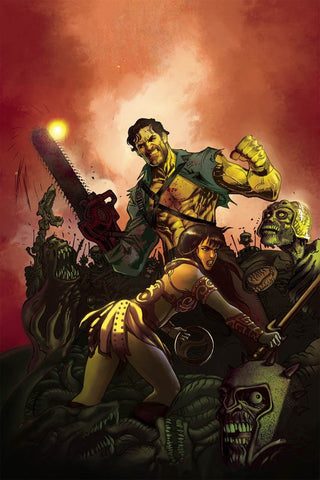 ARMY OF DARKNESS XENA FOREVER & A DAY #6 COVER B VIRGIN VARIANT