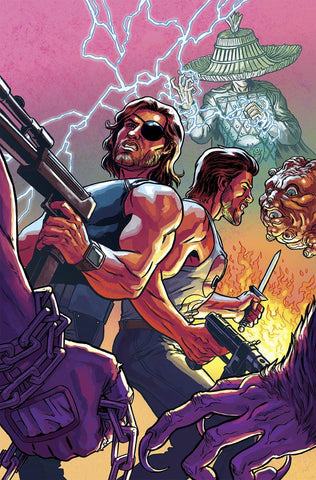 BIG TROUBLE IN LITTLE CHINA ESCAPE NEW YORK #6 BRO SUB VARIANT
