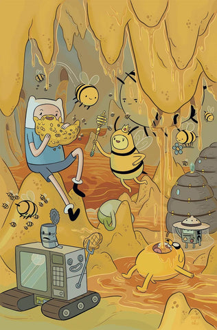 ADVENTURE TIME #62 MAIN COVER