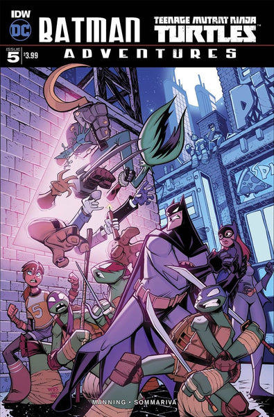 BATMAN TMNT ADVENTURES #5 MAIN COVER