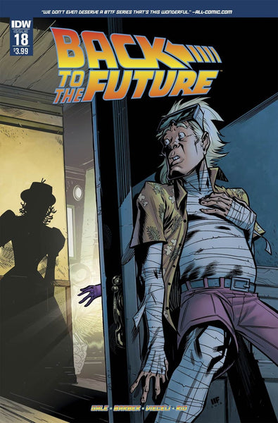 BACK TO THE FUTURE #18 MAIN