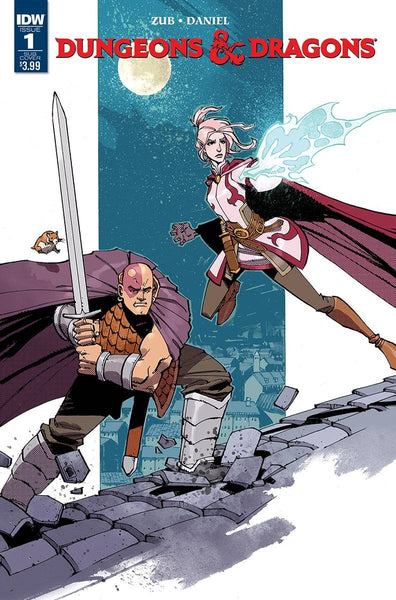 DUNGEONS & DRAGONS (2016) #1 SUBSCRIPTION VARIANT