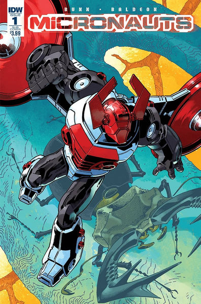 MICRONAUTS #1 SUBSCRIPTION VARIANT B