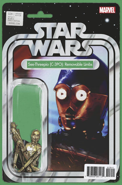 STAR WARS #28 JOHN TYLER CHRISTOPHER ACTION FIGURE VARIANT