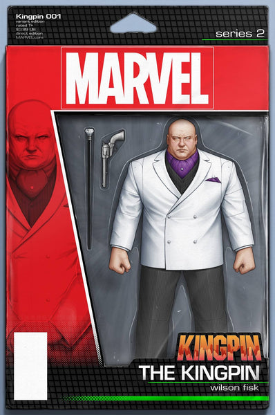 KINGPIN VOL 2 #1 JOHN TYLER CHRISTOPHER ACTION FIGURE VARIANT