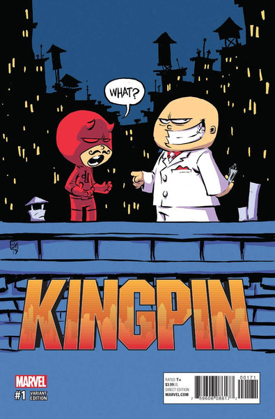 KINGPIN VOL 2 #1 SKOTTIE YOUNG BABY VARIANT
