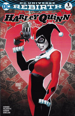 HARLEY QUINN VOL 3 #1 ASPEN MICHAEL TURNER COLOR VARIANT