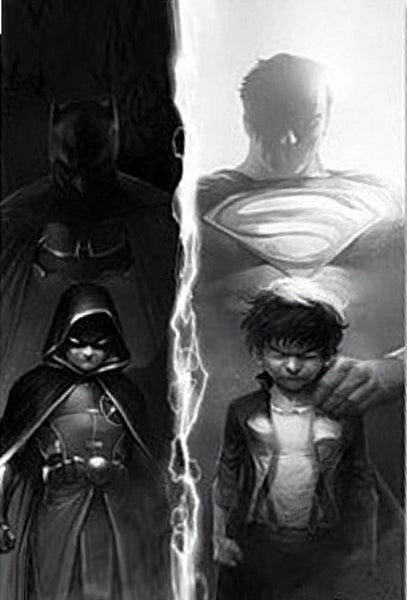 SUPER SONS #1 CBSI FRANCESCO MATTINA B&W VARIANT
