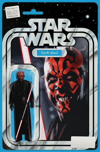 DARTH MAUL #1 JOHN TYLER CHRISTOPHER ACTION FIGURE VARIANT