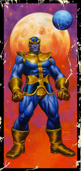 THANOS VOL 2 #4 JOE JUSKO CORNER BOX VARIANT