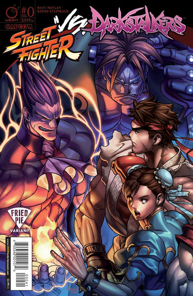 STREET FIGHTER VS DARKSTALKERS #1 FRIED PIE JB NANTEAU VARIANT