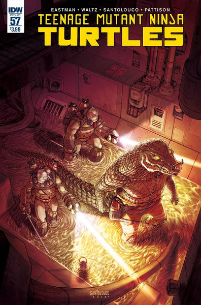 TMNT ONGOING #57 10 COPY INCV