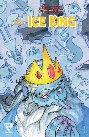 ADVENTURE TIME ICE KING #1 FRIED PIE VARIANT