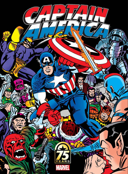 CAPTAIN AMERICA 75TH ANNIV MAGAZINE #1 JACK KIRBY VARIANT