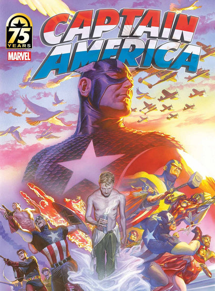 CAPTAIN AMERICA 75TH ANNIV MAGAZINE #1 ALEX ROSS VARIANT