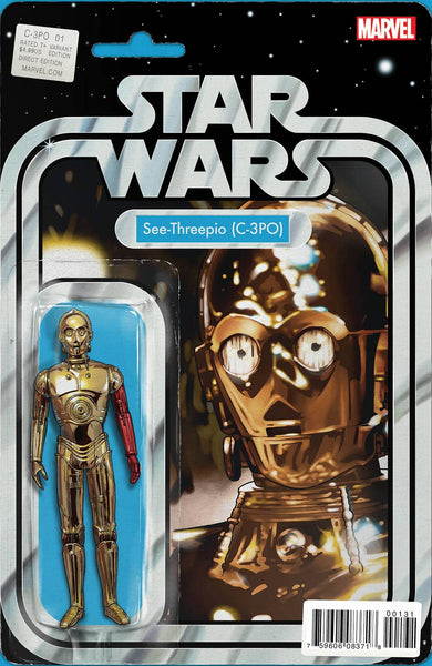 STAR WARS C3PO SPECIAL #1 J T CHRISTOPHER ACTION FIGURE VARIANT