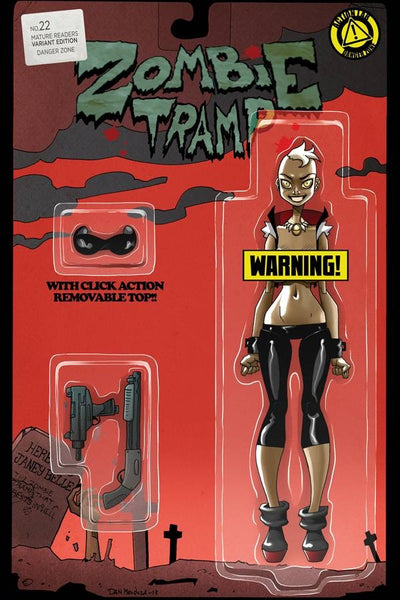 ZOMBIE TRAMP ONGOING #22 CVR D ACTION FIGURE RISQUE