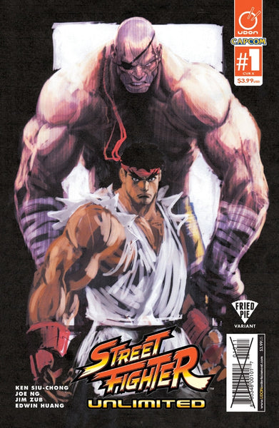 STREET FIGHTER UNLIMITED #1 FRIED PIE VARIANT