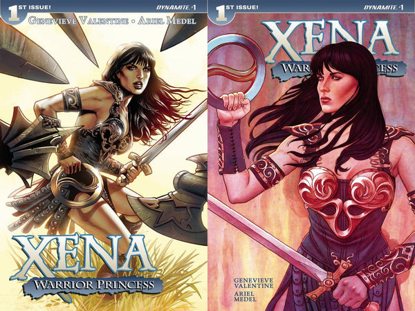 XENA WARRIOR PRINCESS #1 LAND FRISON 50/50 SPLIT