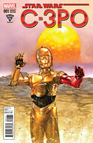 STAR WARS C3PO SPECIAL #1 DAVE DORMAN FRIED PIE VARIANT