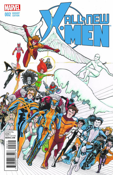 ALL NEW X-MEN #2 JANET LEE 1:25 VARIANT