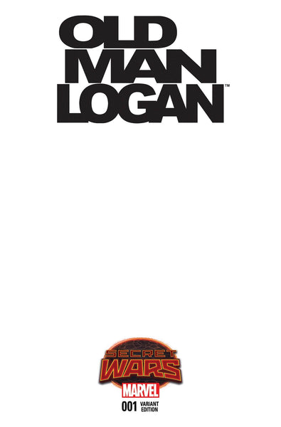 OLD MAN LOGAN #1 BLANK VARIANT
