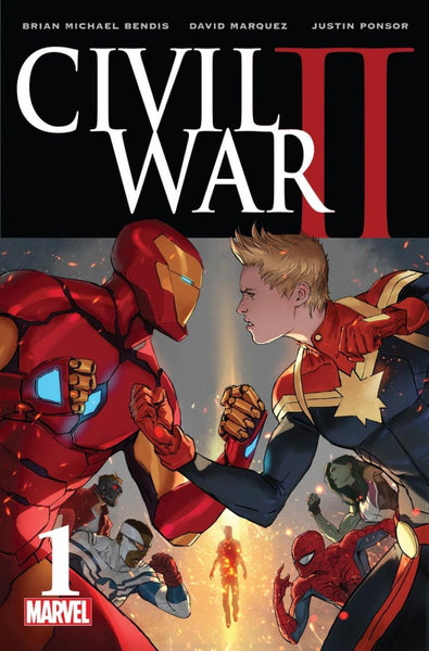 CIVIL WAR II #1 (OF 7) REGULAR 1ST PRINT