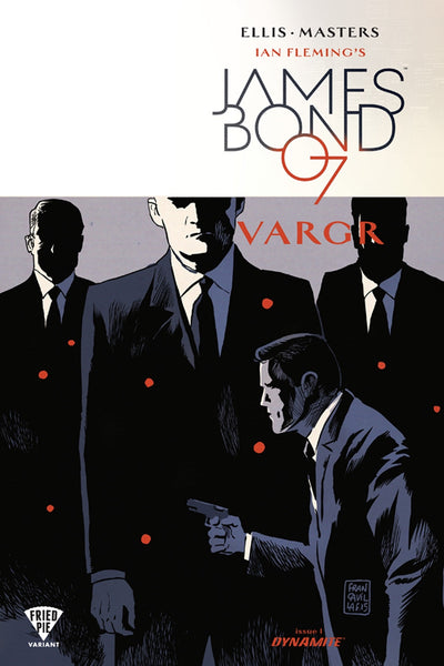 JAMES BOND 007 #1 FRIED PIE VARIANT