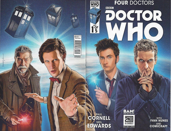 DR WHO FOUR DOCTORS #1 BAM VARIANT