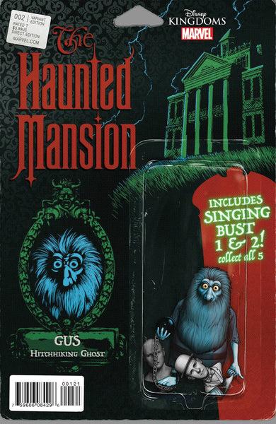 HAUNTED MANSION #2 (OF 5) CHRISTOPHER ACTION FIGURE VARIANT