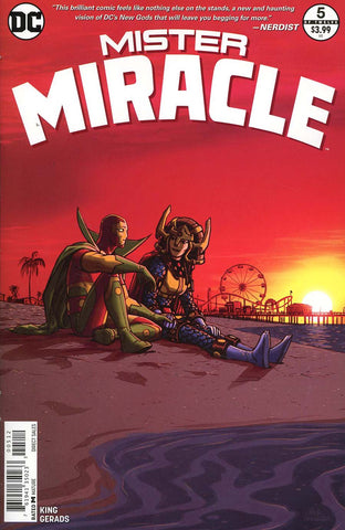 MISTER MIRACLE #5 (OF 12) 2ND PTG