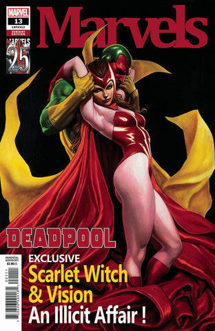 DEADPOOL #13 GRANOV MARVELS 25TH TRIBUTE VAR