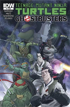 Teenage Mutant Ninja Turtles Ghostbusters #1 Cover A