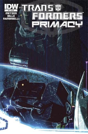 Transformers Primacy #3 Cover A