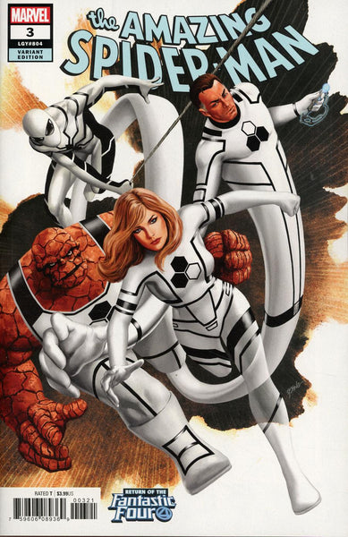 AMAZING SPIDER-MAN #3 EPTING RETURN OF FANTASTIC FOUR VAR