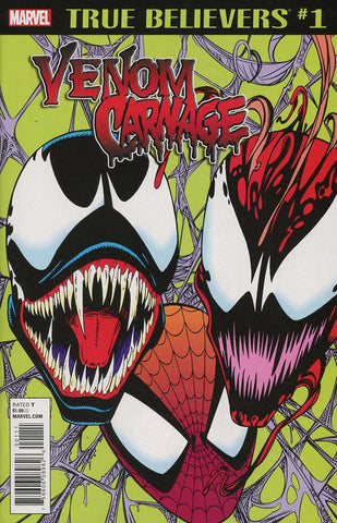 TRUE BELIEVERS VENOM CARNAGE #1