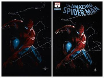 AMAZING SPIDER-MAN #1 IGC DELLOTTO 2 PACK EXCLUSIVE