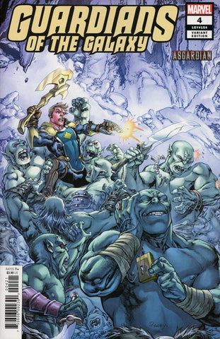 GUARDIANS OF THE GALAXY #4 RANEY ASGARDIAN VAR