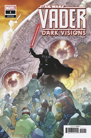 STAR WARS VADER DARK VISIONS #1 (OF 5) YU VAR