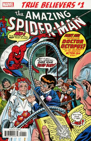 TRUE BELIEVERS SPIDER-MAN WEDDING AUNT MAY AND DOC OCK #1