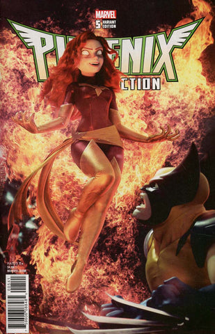 PHOENIX RESURRECTION RETURN JEAN GREY #5 (OF 5) HUGO CONNECT