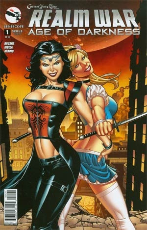 Grimm Fairy Tales Presents Realm War #1 Cover C