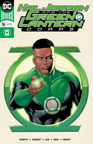 HAL JORDAN AND THE GREEN LANTERN CORPS #36 VAR ED