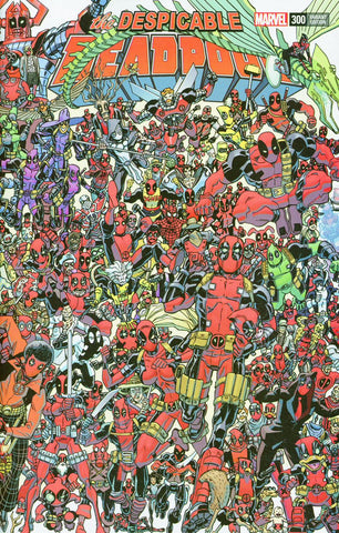 DESPICABLE DEADPOOL #300 KOBLISH 300 DEADPOOLS WRAPAROUND VA