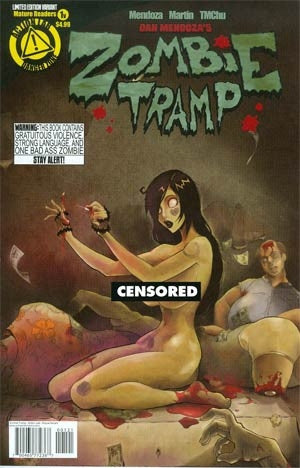 Zombie Tramp Ongoing Risque Variant #1
