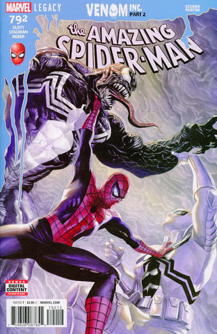 AMAZING SPIDER-MAN #792 2ND PTG ROSS VAR LEG