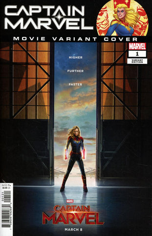 CAPTAIN MARVEL #1 MOVIE VAR